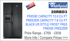 Whirlpool 20RBD3 Fridge Freezer
