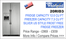 Whirlpool 20RID3 Fridge Freezer