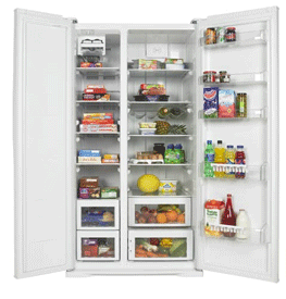 AB910W Beko Fridge Freezer