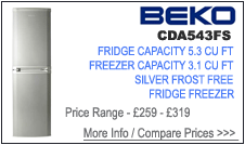 CDA543FS Beko Fridge Freezer