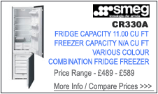 Smeg CR330A Fridge Freezer