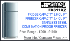 Smeg FA311X2 Fridge Freezer