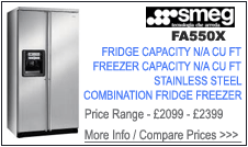 Smeg FA550X Fridge Freezer