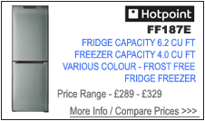 Hotpoint FF187E Fridge Freezer