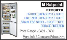 Hotpoint FF200TX Fridge Freezer