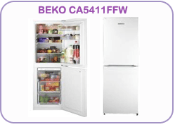 CA5411FFW Beko Fridge Freezer