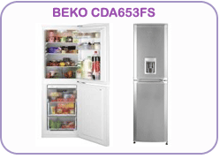 CDA653FS Beko Fridge Freezer