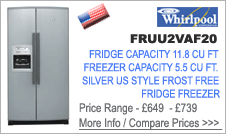 Whirlpool FRUU2VAF20 Fridge Freezer