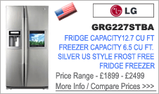 LG GRG227STBA American Fridge Freezer