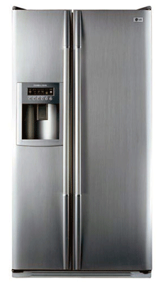 GRL207TUJA LG Fridge Freezer