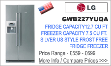 LG GWB227YUQA American Fridge Freezer