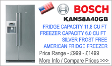 Bosch KAN58A40GB Fridge Freezer