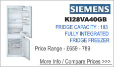 KI28VA40GB Siemens Fridge Freezer