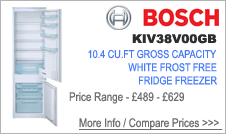 KIV38V00GB Bosch Fridge Freezer