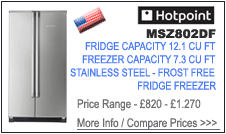 Hotpoint MSZ802DF Fridge Freezer