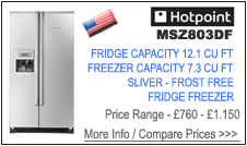 Hotpoint MSZ803DF Fridge Freezer