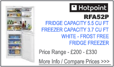 Hotpoint RFA52P Fridge Freezer