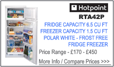 Hotpoint RFA42P Fridge Freezer