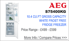 S75400KG AEG Fridge Freezer