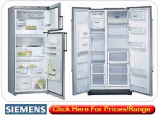Siemens Fridge Freezers