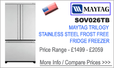 SOV026TB Maytag Fridge Freezer