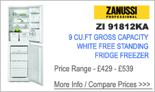 ZI9182KA Zanussi Fridge Freezer