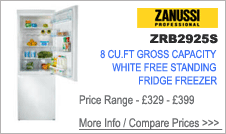 ZRB2925S Zanussi Fridge Freezer